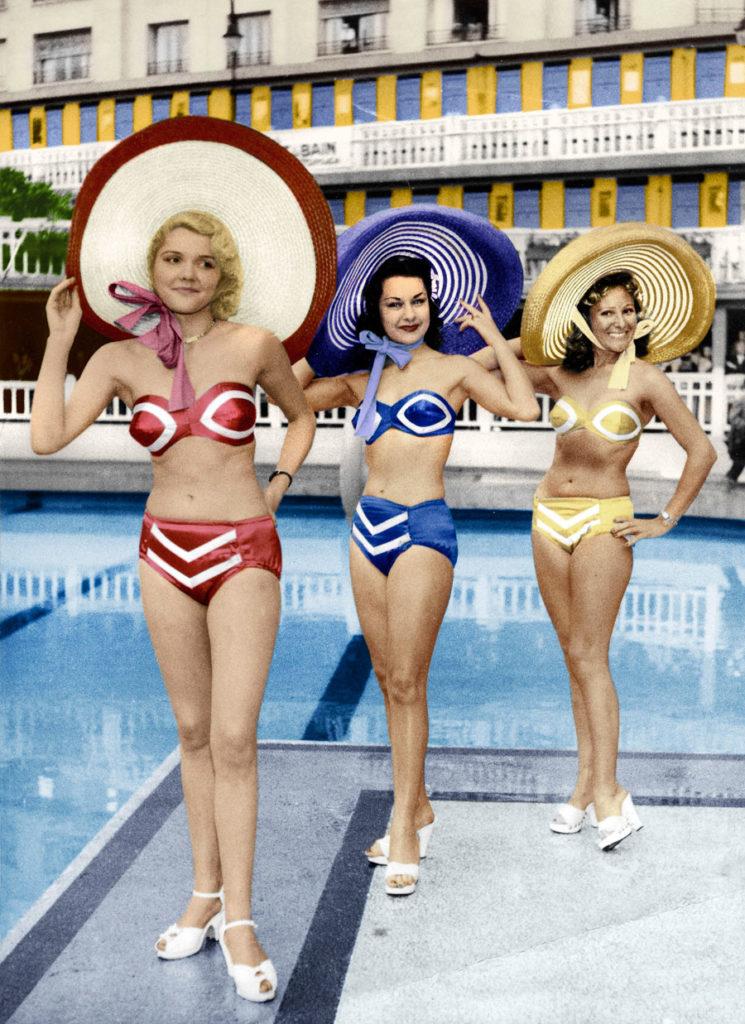 Réard Swimwear Fashion Show (1951)