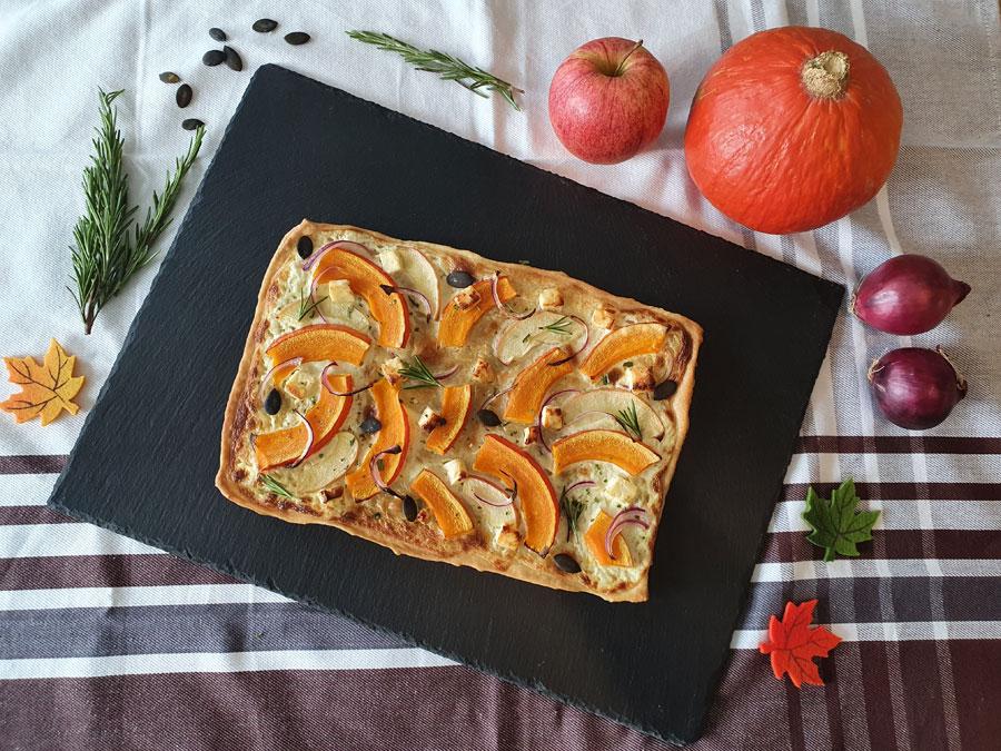 Yummy Selina Weiler - Herbstflammkuchen Rezept (1)