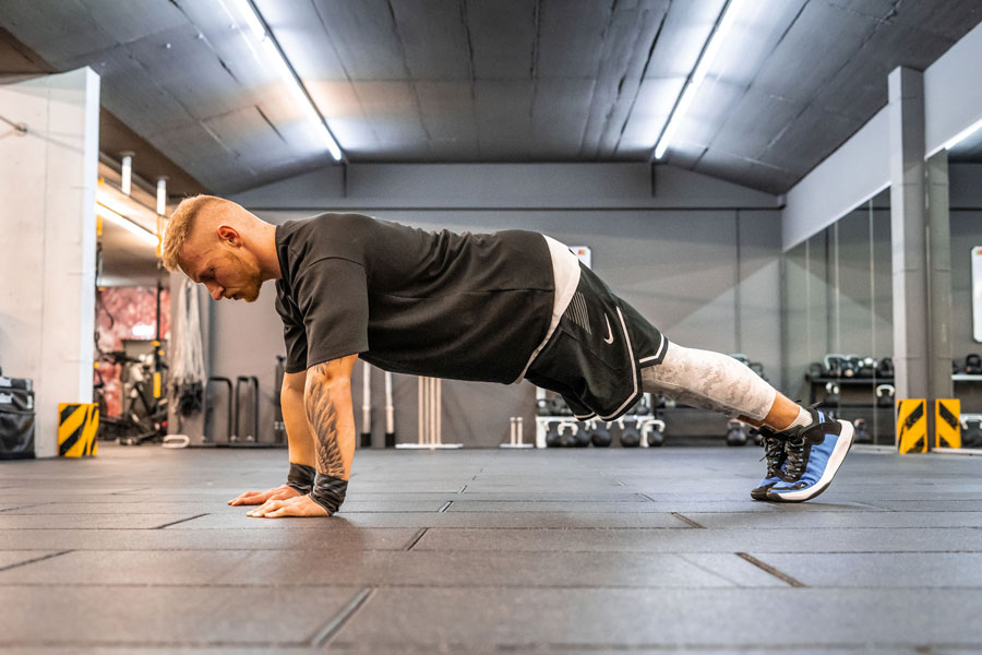 Full Body Workout 1 - Push Ups