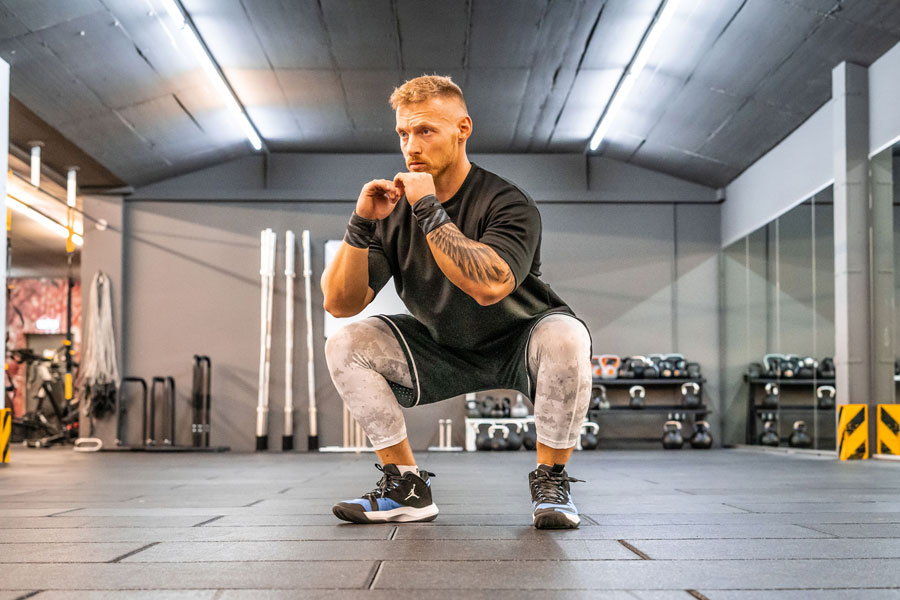 Full Body Workout 4 - Squats