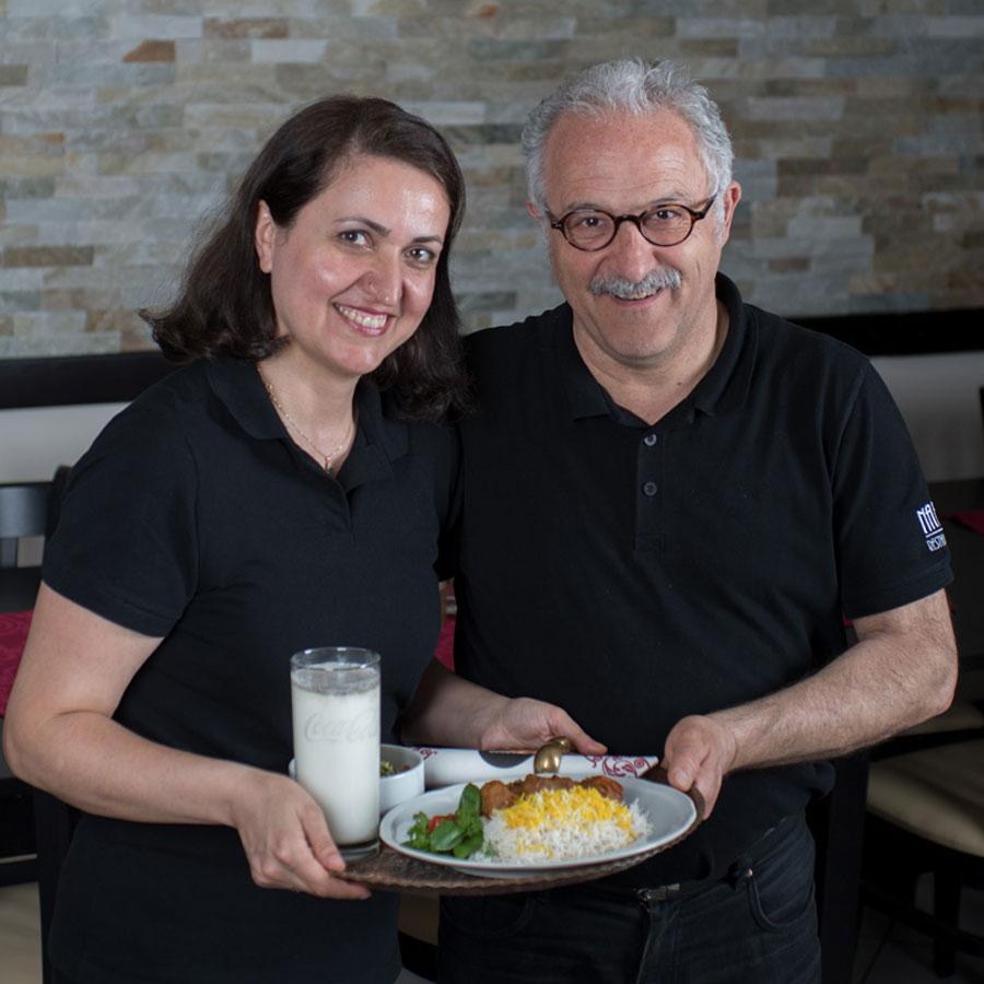 Nasrin & Ghoulam Reza Nabatian