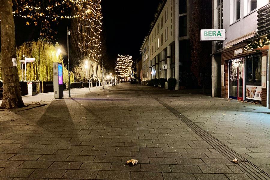 Heilbronn Untere Neckarstraße (Dezember 2020)