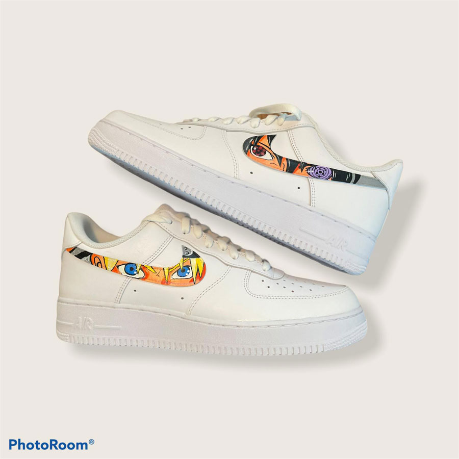 Customized Sneaker Heilbronn - Nike Air Force 1 Naruto (1)