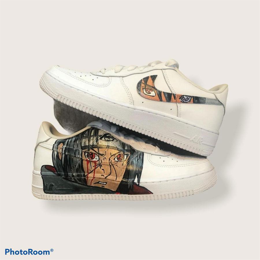 Customized Sneaker Heilbronn - Nike Air Force 1 Naruto (2)