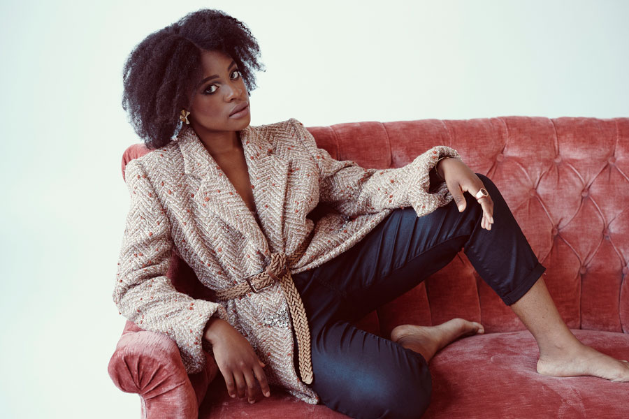 Afra Kane - Interview Jazz & Einkauf (2)